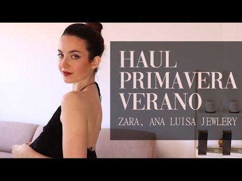 HAUL PRIMAVERA VERANO | Zara, Ana Luisa Jewlery | Moda