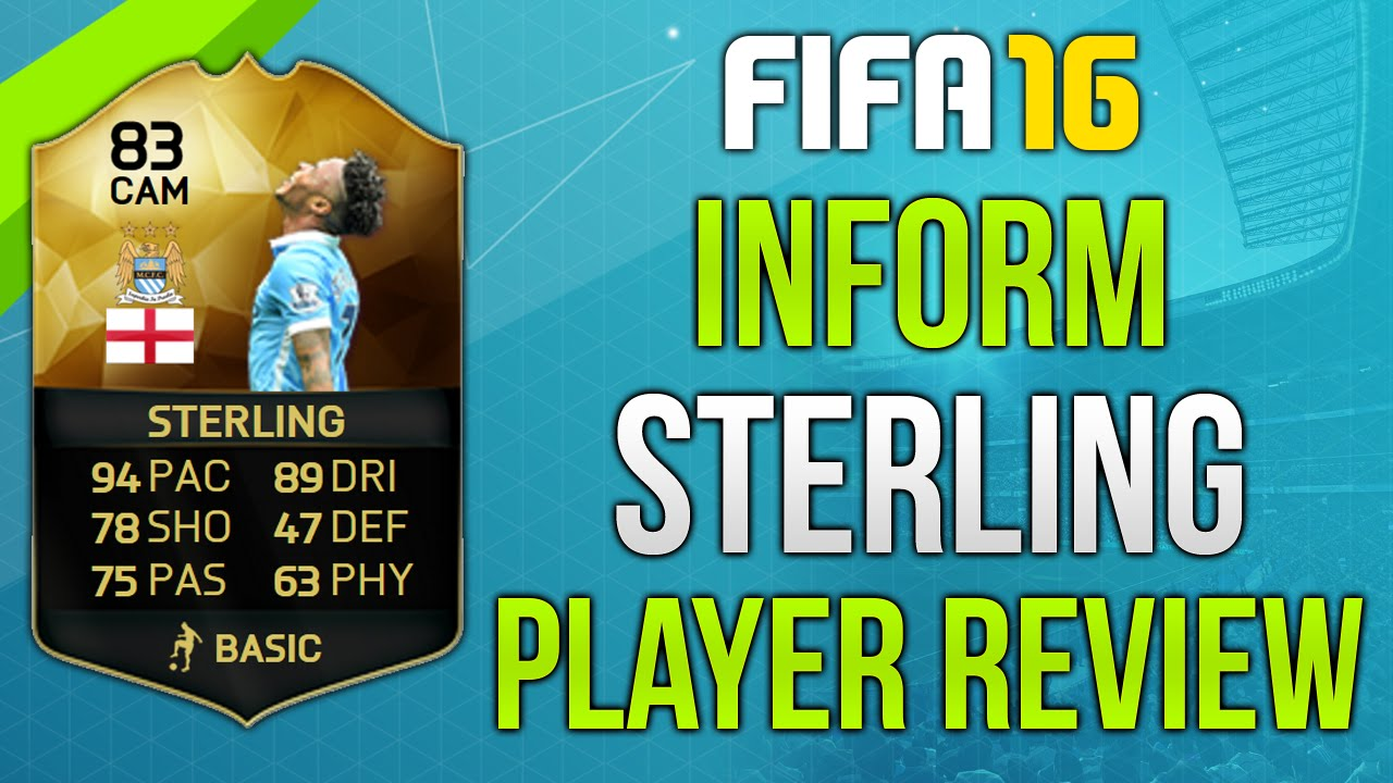 Sterling Fifa 16