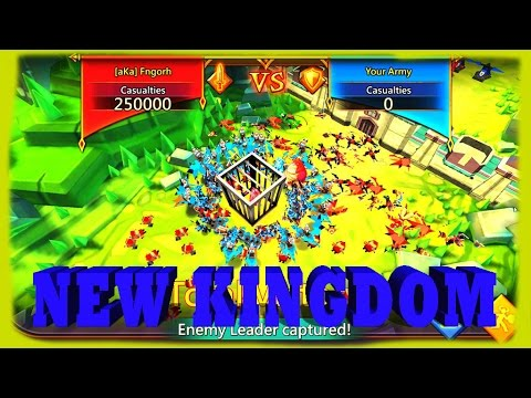 Lords Mobile New Kingdom WOW
