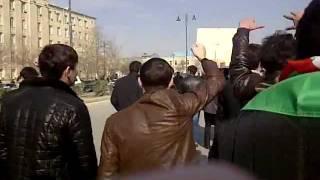Bakıda XOCALIYA ədalət yürüyüşü! 26.02.2012 (20-ci hissə)