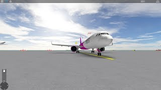 perfect landing in SFS Flight Simulator Roblox
