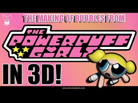 The Powerpuff Girls | Making bubbles in 3D