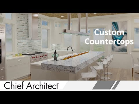 Repeat How to Create Custom Countertops in Chief Architect Software