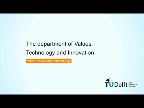 Department of Values, Technology and Innovation