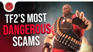 [TF2] The Craziest Scam Methods In TF2 History