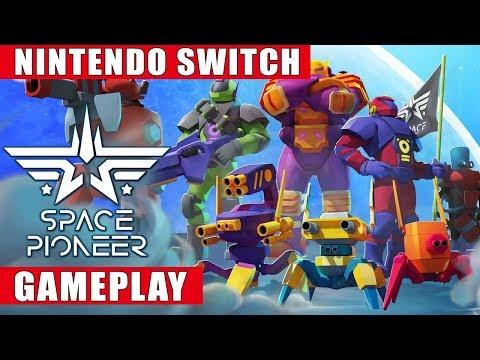 Space Pioneer Nintendo Switch Gameplay