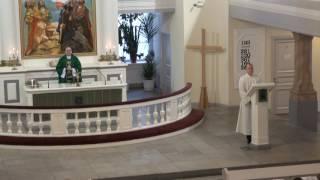 ''Сеяние слова'', Воскресная служба, Приход Святой Марии ЕЛЦИ