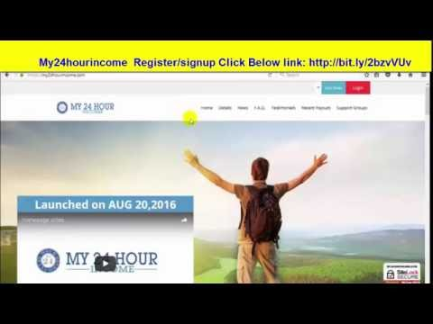 My24 Hour Income Excellent Video Telugu Presentation