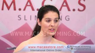MACAS SLIMMING Gel (Turkish Language) 2015