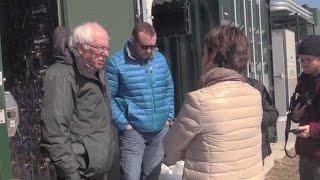 Bernie Sanders Visits Rutland