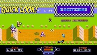 NES Classic: Excitebike! Quick Look - YoVideogames