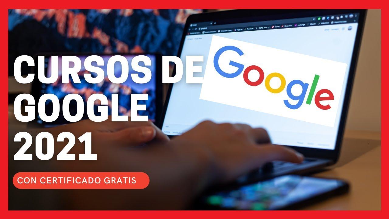 Los Mejores Cursos De Google Gratis Con Certificado 2021 Google Activate Youtube