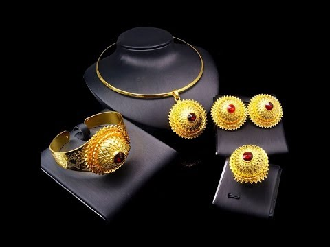 Fashion Ethiopian Jewelry Set Designs || Wedding Ethiopian Jewelry set