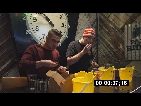 fried-chicken-eating-contest-in-toronto!---10,000+-calories-|-duke's-refresher-bar