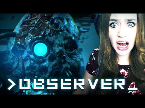 OBSERVER #08 - WAS IST DAS?! ● Let's Play Observer