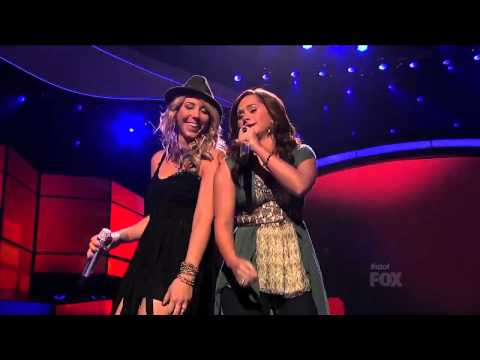 Group Song_ Raise Your Glass - Top 7 Results - AMERICAN IDOL SEASON 11
