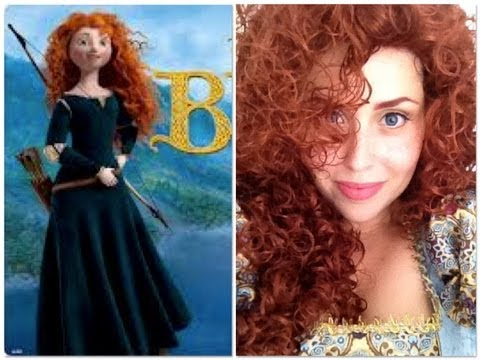 TUTORIAL - Disney's Princess Merida - The BRAVE (Ribelle)