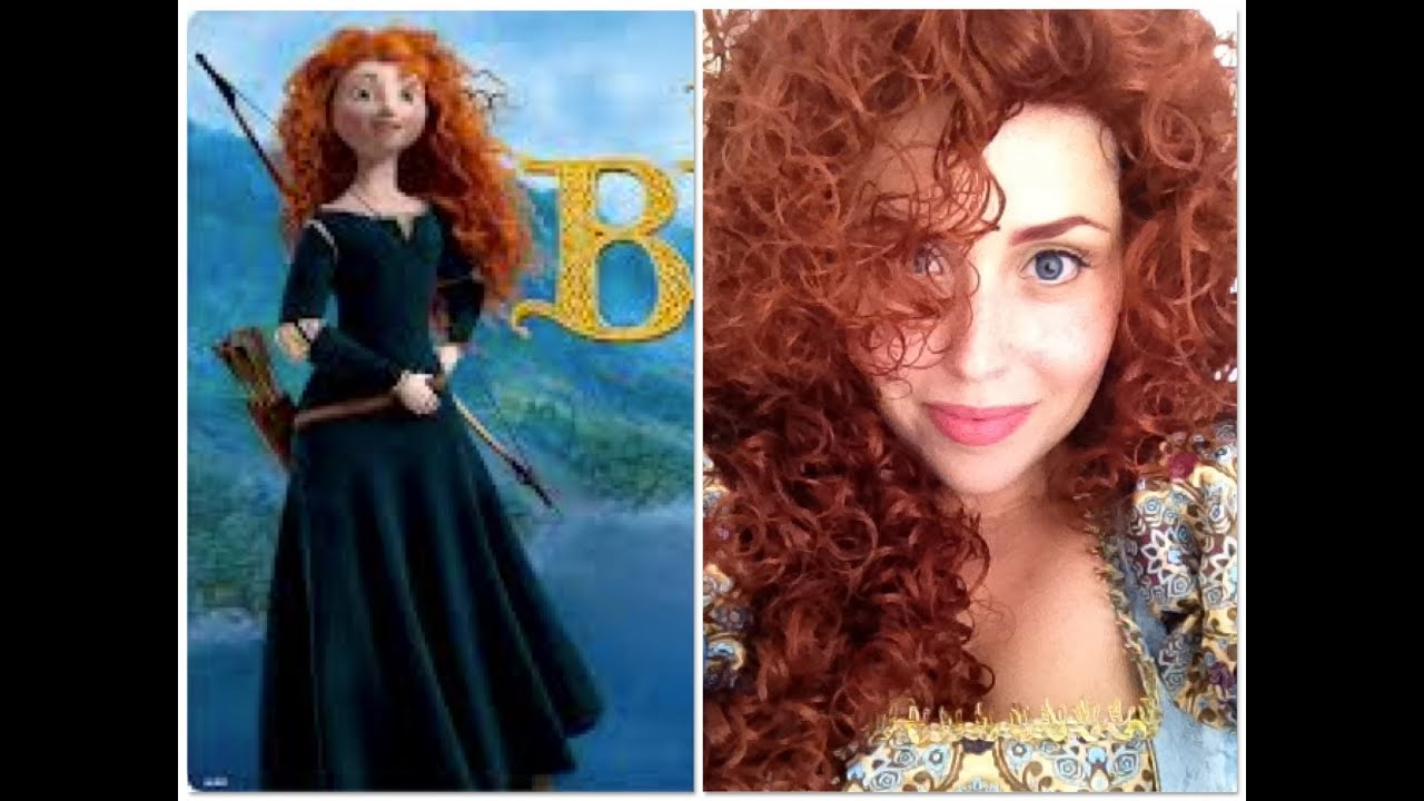 Tutorial Disney S Princess Merida The Brave Ribelle