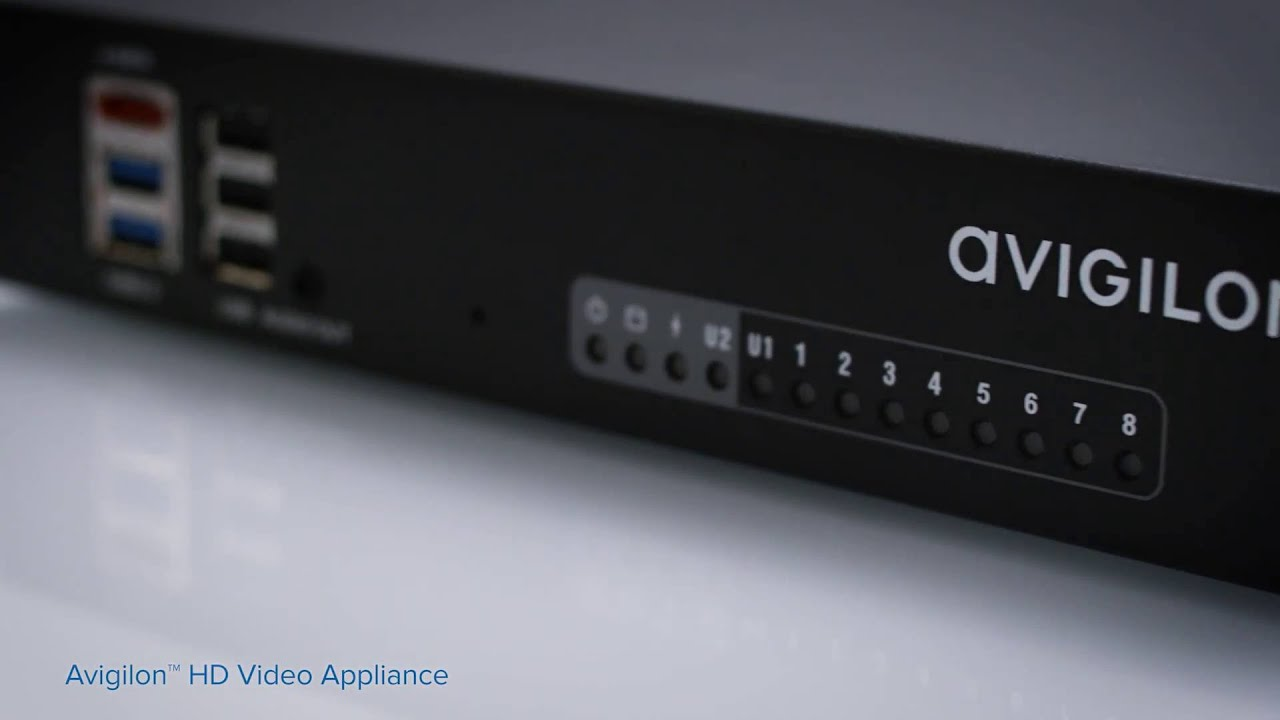 Avigilon HD Video Appliance Line | Unboxing