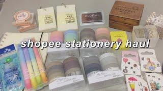 stationery haul 🖇 (washi tapes, brush pens, etc.) | heydiana