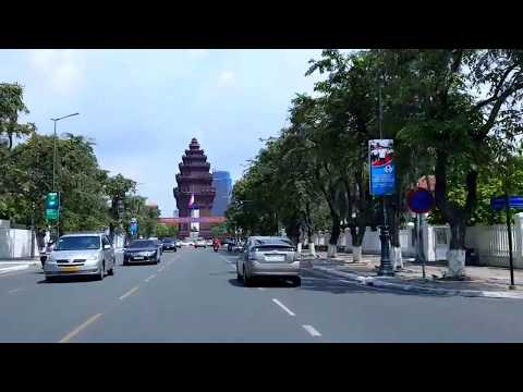 Incredible Phnom Penh City, Travel in Capital of Cambodia with Sentimental Love Songs