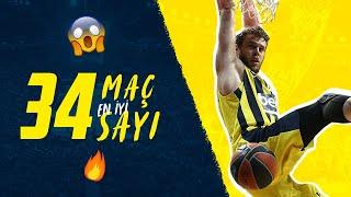 Final Four Yolunda 34 Maçta En İyi 34 Sayı 🏀 (Fenerbahçe Beko EuroLeague)