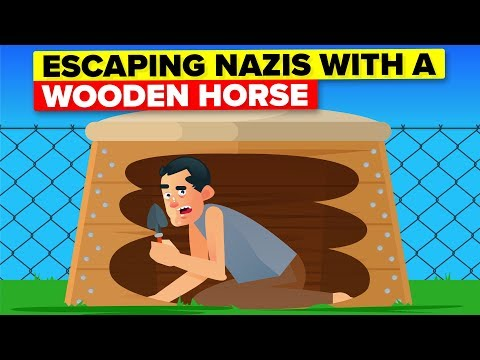 Escaping A Nazi Prison With A Wooden Horse