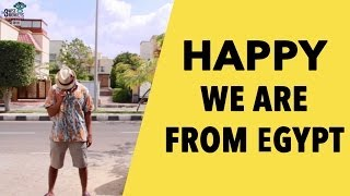 Pharrell Williams - Happy [WE ARE FROM EGYPT] | The 3 Wise Monkeys