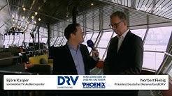 sonnenklar.TV Live vor Ort beim DRV Kongress, Hamburg. Im Gespräch Präsident Norbert Fiebig.