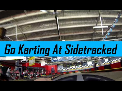 Go Karting At Sidetracked