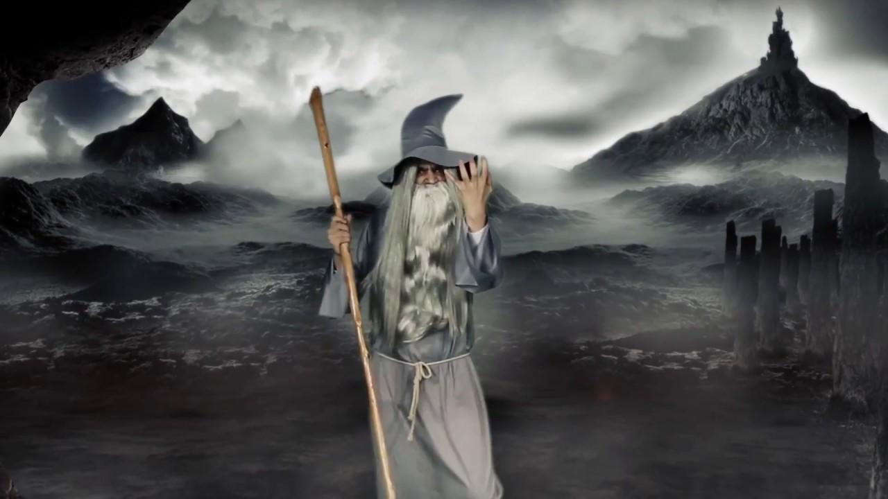 Disfraz de Mago Gandalf el gris para hombre - YouTube c123815e9bf