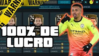 MANIPULAÇÃO/TRADE COM 100% DE LUCRO |FIFA MOBILE 20