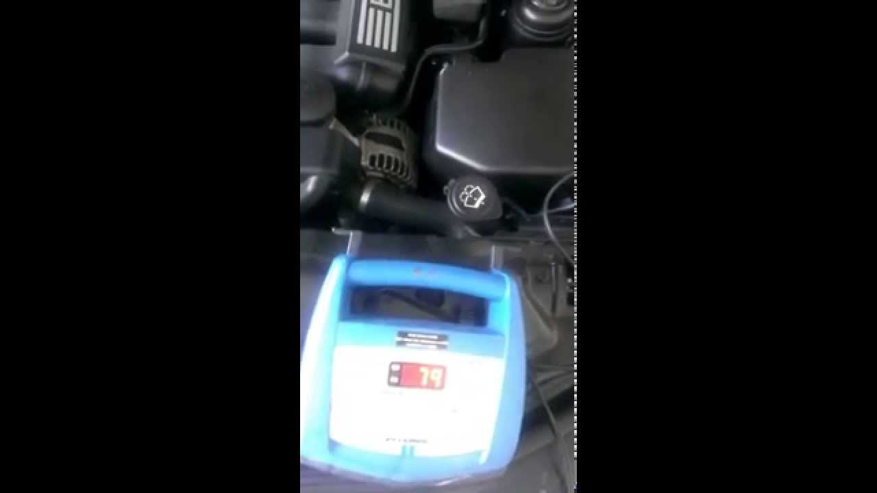 Charging The Battery On 08 Bmw 528i E60