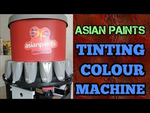 ASIAN PAINTS TINTING MACHINE | COLOUR MACHINE | 2000+ COLOURS