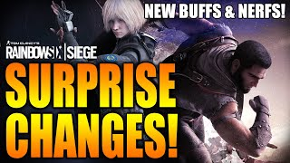 Rainbow Six Siege - In Depth: SURPRISE CHANGES! - VOID EDGE BUFFS & NERFS