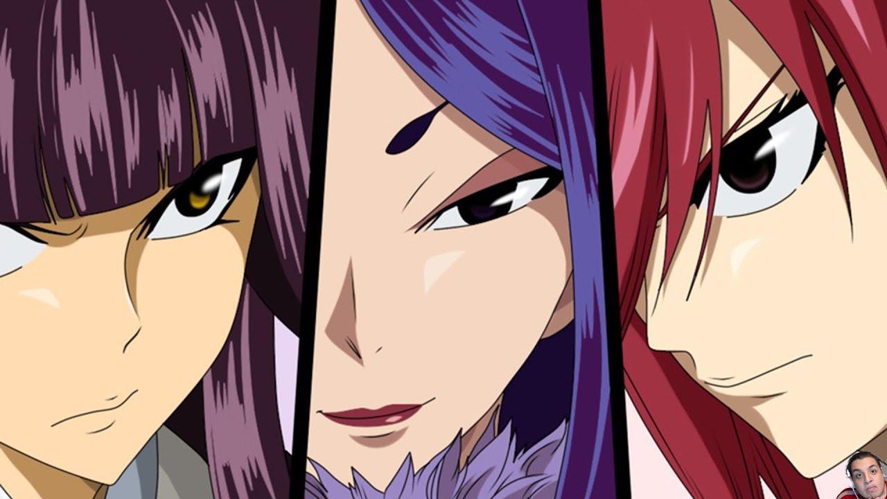 Fairy Tail 311 Manga Chapter Review- Erza Vs Kagura Vs ...