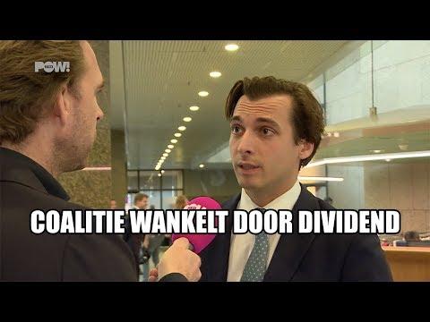 Coalitie wankelt door dividend