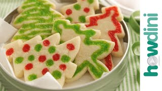 How To Make Cookies: Make Christmas Sugar Cookies