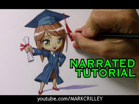 How to Draw a Chibi Graduate