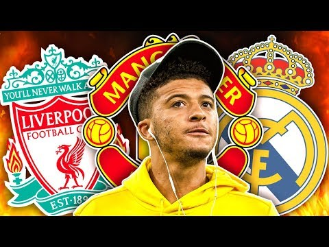 Liverpool, Real Madrid, & Manchester United Battle For Unhappy Jadon Sancho! | Euro Transfer Talk