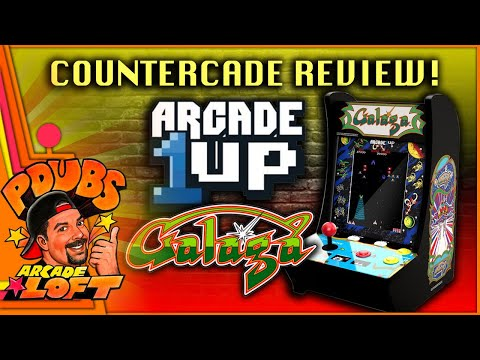 Arcade1Up Galaga Countercade Review!  $49 Deal at Wal-Mart! from PDubs Arcade Loft