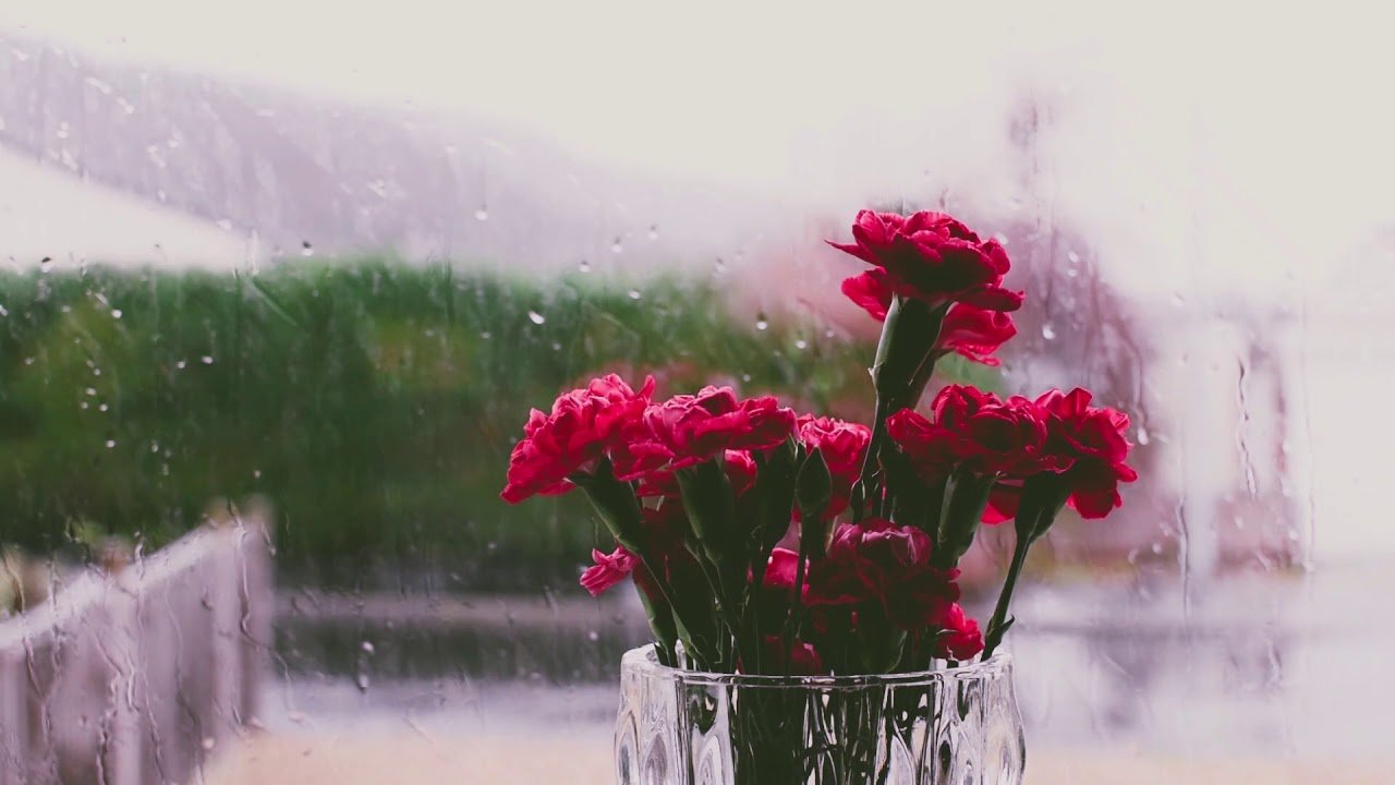 Relaxing Music With Rain Background - Relaxing Music