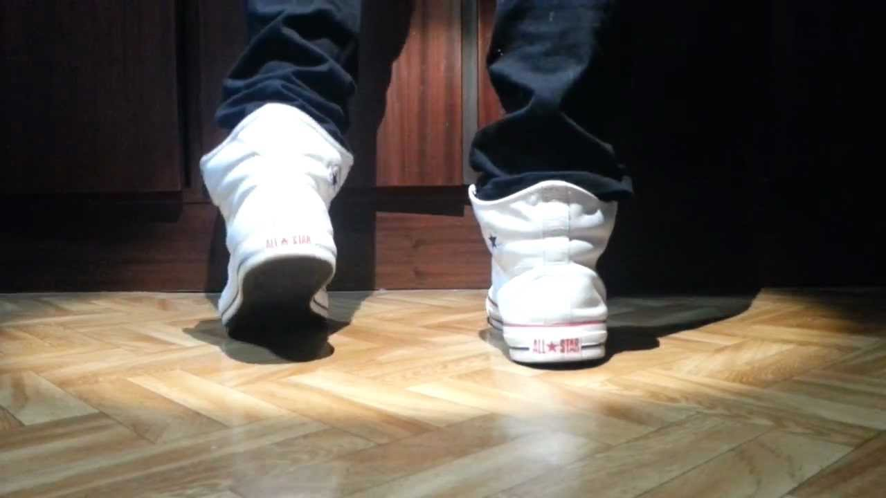 de56baa89d93 Converse Padded Collar 2 White and skinny jeans 2 - YouTube