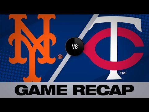 Smith, Rosario fuel Mets' 14-4 rout of Twins | Mets-Twins Game Highlights 7/17/19
