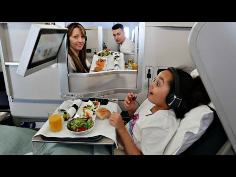 Thumbnail: KIDS REACT! 9 Year Old Kid Hits 4 Million Subscribers! Business Class Airplane Flight To NYC
