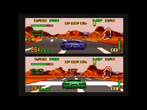SNES Top gear 3000  two players. Full game