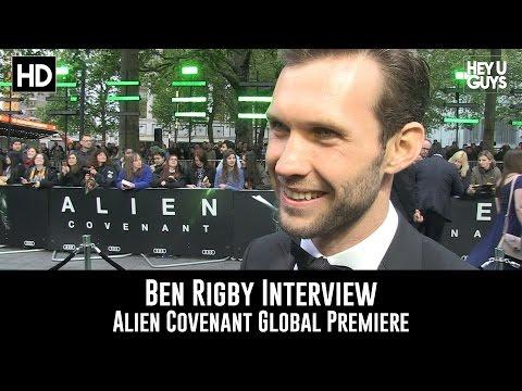 Ben Rigby Premiere Interview - Alien Covenant