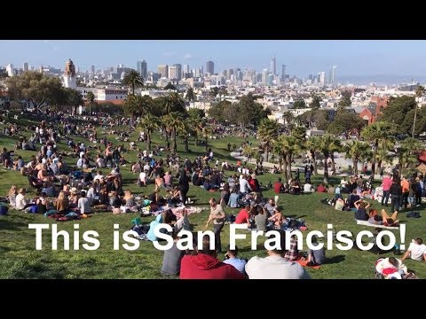 [San Francisco 샌프란시스코] 젊은이들의 성지 Mission Dolores Park!