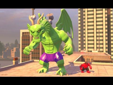LEGO Marvel's Avengers – Fin Fang Foom Unlock + Open World Free Roam in Manhattan