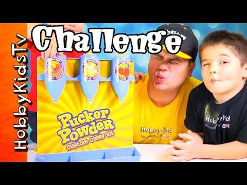Pucker Powder Custom Kit Review with HobbyKids and HobbyDad